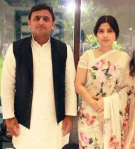akhilesh and dimple